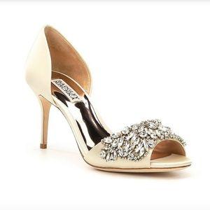Badgley Mischka Hansen D'Orsay Evening Shoes